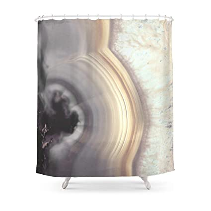 MAOXUXIN Taupe Agate Shower Curtain 60quot