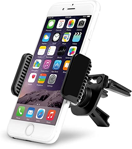 No Tools Required Vent Phone Holder Expands for All Cell Phones Fully Adjustable with 360/° Rotation. Universal Car Phone Holder Stick to car air Vent iPhone and Android Phones Easy to USE
