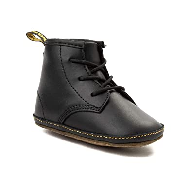 75b0c90bd Dr Martens Babies / Crib Lace Bootie, Lightweight, Soft Leather, Cushioned  Fashion Shoes: Amazon.co.uk: Shoes & Bags
