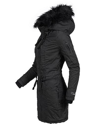 Khujo Mujer Abrigo de invierno algodón Parka ym-anastina 5 Colores XS-XXL: Amazon.es: Ropa y accesorios