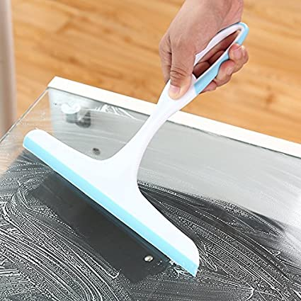 AMIDE BY AD.COM™ Squeegee Kitchen Wiper For Car Windshield, Kitchen Slab, Bathroom Mirror (Assorted Colors) – SET of 1