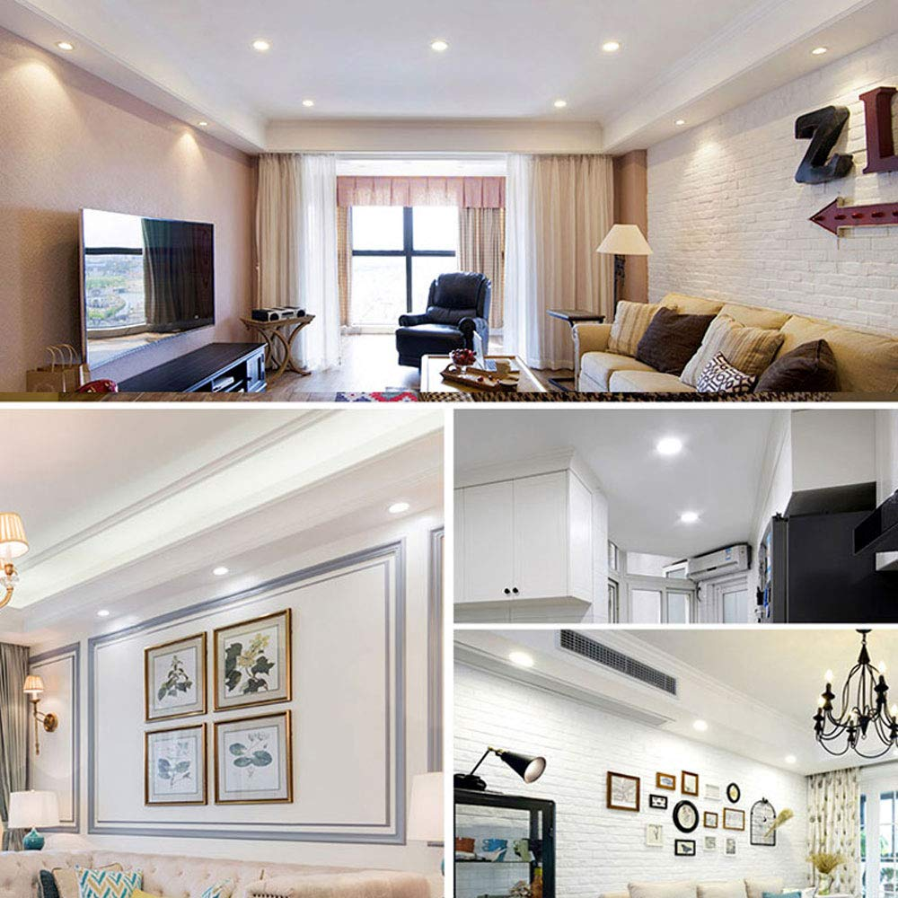 Woerled Trois couleurs Dimming Deluxe Edition Downlight intégré Led ...