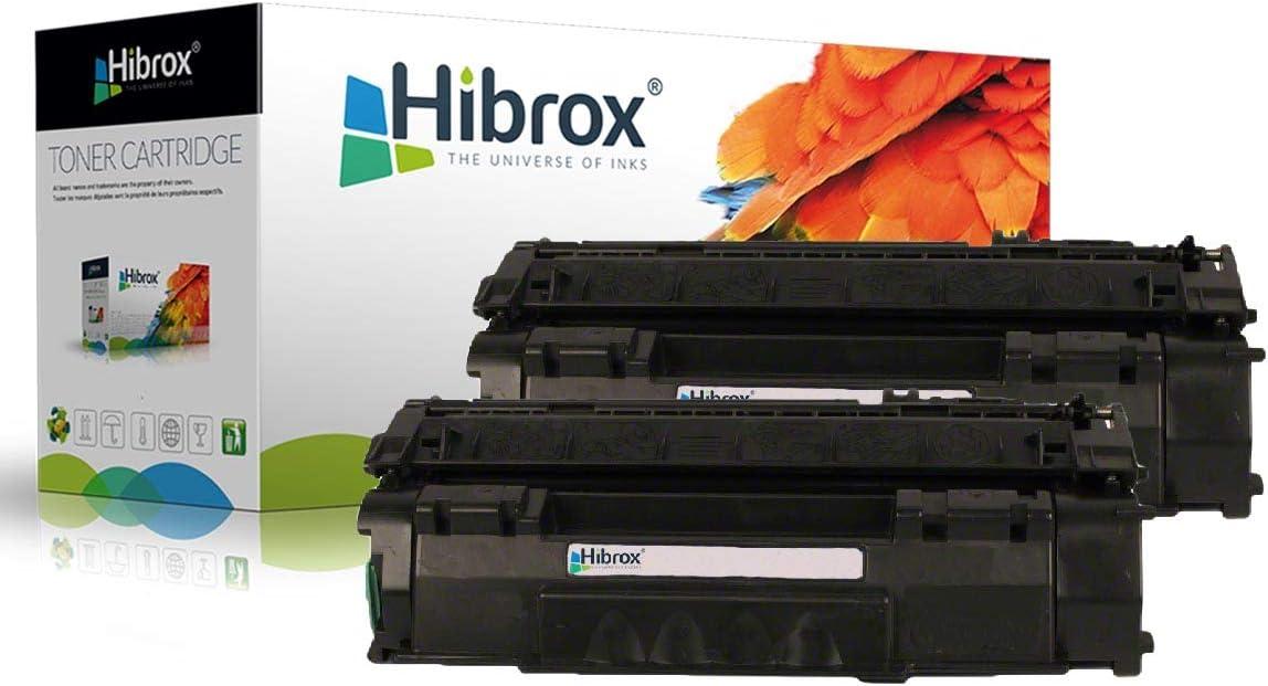 Hibrox 2 Toner Kompatibel Hp Q5949a Q7553a Ep708 49a 53a Für Hp Ep 708 Lbp 3300 3360 E 708 L P 3300 P 3360 Laserjet 1160 1320 1320n 1320nw 1320tn 3390 3392 320nw 1320n 320tn 320 320n 1320 3392 3390 1 Bürobedarf Schreibwaren