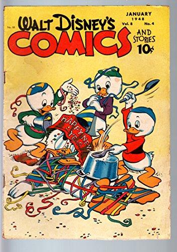 48 Donald Duck - WALT DISNEY'S COMICS AND STORIES #88-'48-DONALD DUCK-GLADSTONE-C BARKS-VG c VG