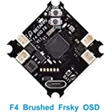 BETAFPV F4 FC Brushed Flight Controller with SPI Frsky Receiver Betaflight OSD Smart Audio for Tiny Whoop Micro Racing Drone