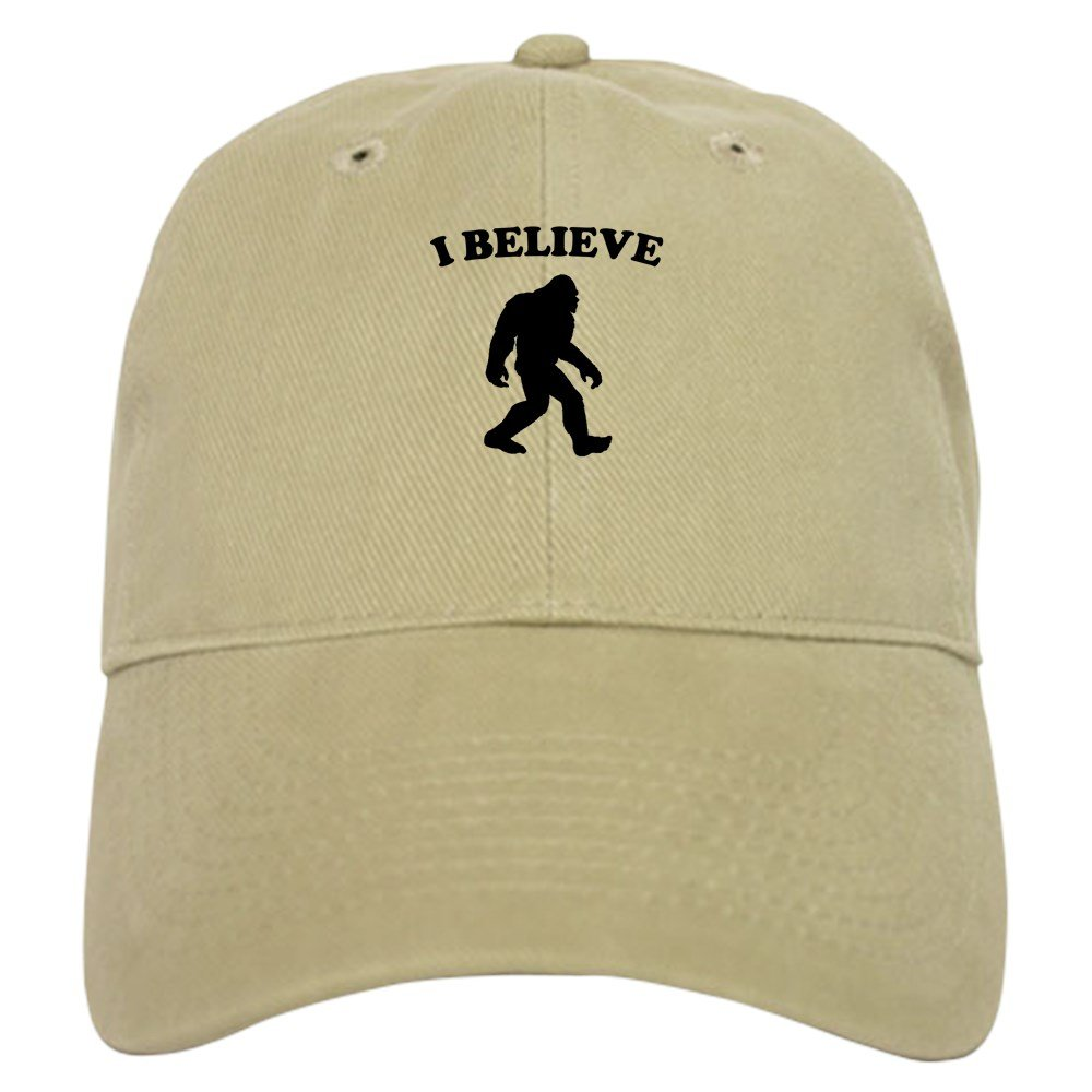 Amazon.com  CafePress - Bigfoot I Believe Baseball - Baseball Cap with  Adjustable Closure 0dc269fa0c20