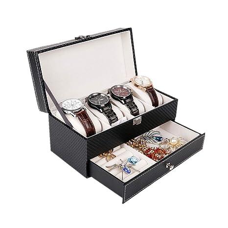 Yishelle Estuche para Caja de exhibición de Relojes Caja de ...