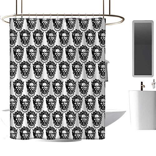 Shower waterproof fabric shower curtain70