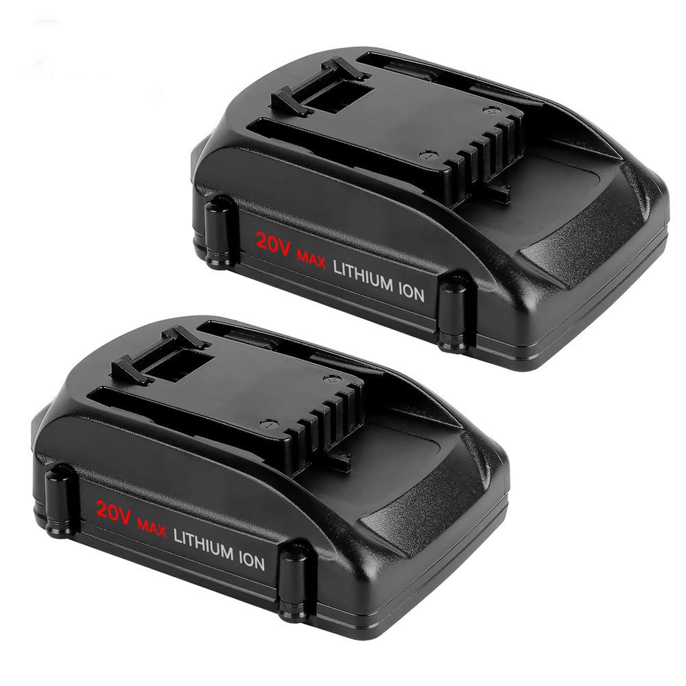 2 Packs WA3525 20V 2.5Ah Replace for WORX 20 Volt Lithium Battery WG151s WG155s WG251s WG255s WG540s WG545s WG890 WG891 Cordless Tools