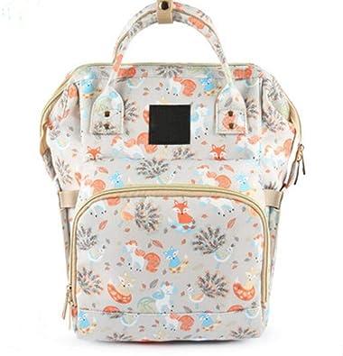 Amazon.com: Bolsa impermeable para pañales, mochila de viaje ...