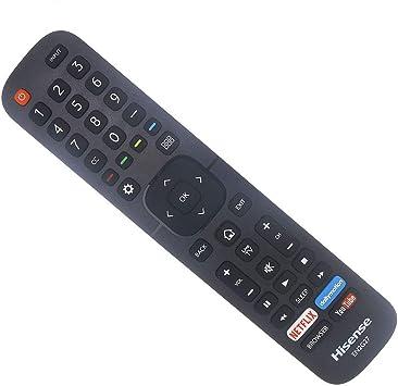 Genuine Hisense TV Remote Control for All 2016 and Newer Hisense Smart Televesions EN2A127H EN2A27 EN2A27HT EN2AN27H EN2AS27H EN2B27 EN2C27 EN2D27 EN2G27 EN33922A EN33924HS EN33925A EN33926A EN33927A: Amazon.es: Electrónica