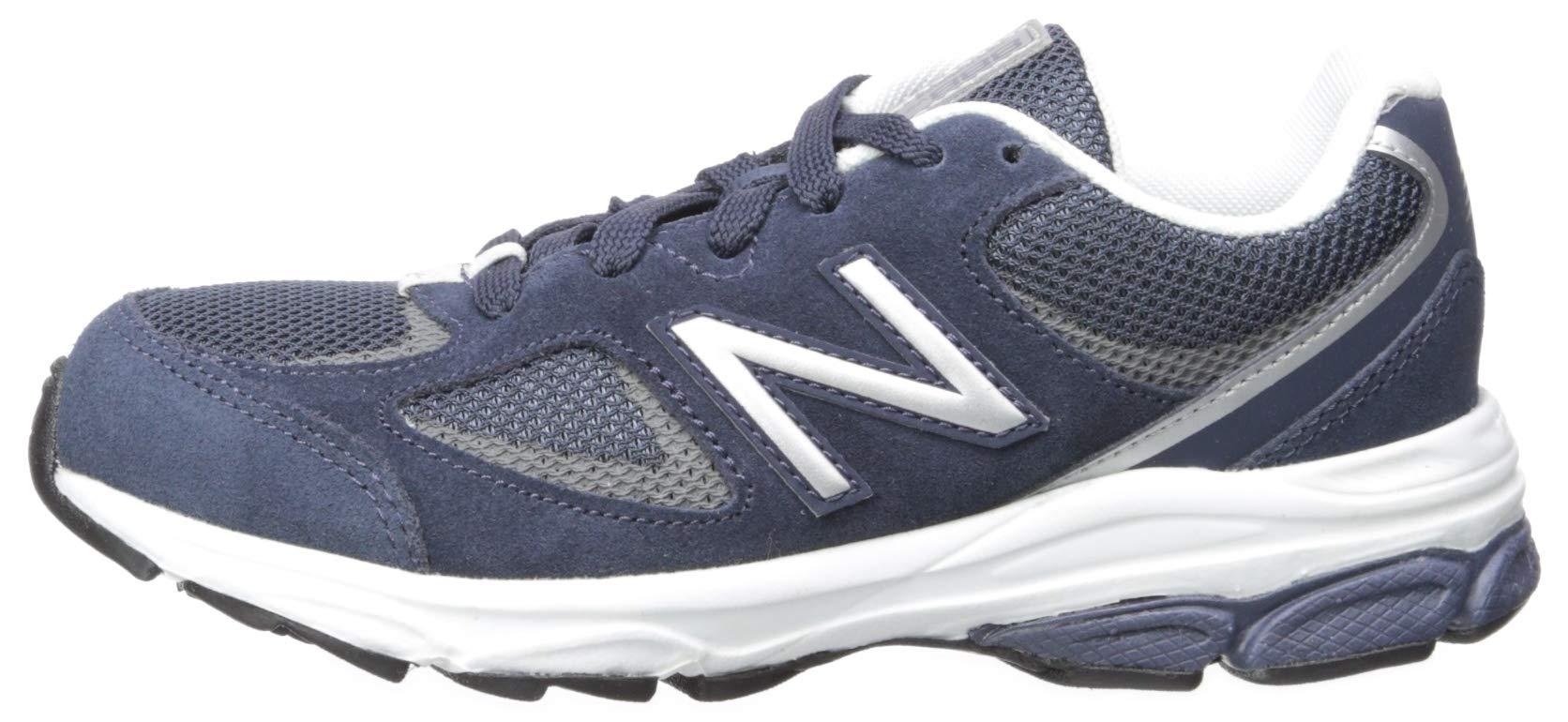 New Balance Boys' 888v2 Running Shoe, Navy/Grey, 2.5 M US Little Kid by New Balance (Image #5)