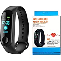 MOBONE M3 Band Touch Screen with Live Heart Rate Monitor Waterproof Silicone Smart Fitness Band/Activity Tracker