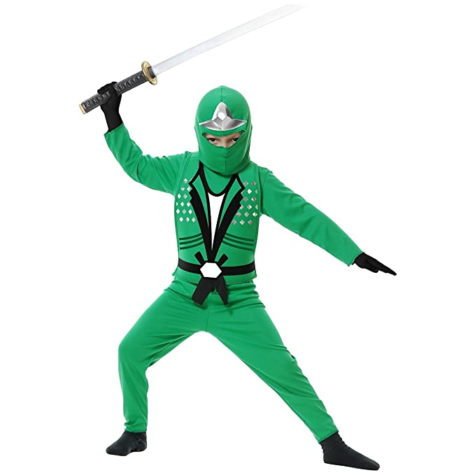 Amazon.com: Verde Ninja Avengers Series II disfraz para ...