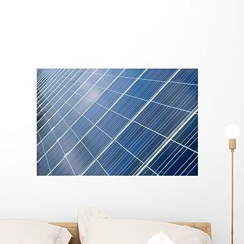 Solar Panel Wall >> Amazon Com Wallmonkeys Photovoltaic Cells Solar Panel Wall Mural