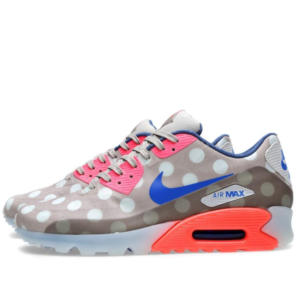 sports shoes b8a69 081e7 Amazon.com   Nike Mens Air Max 90 Ice City Qs CLASSIC STONE HYPER  PUNCH LIGHT BONE 667635-001 13   Fashion Sneakers