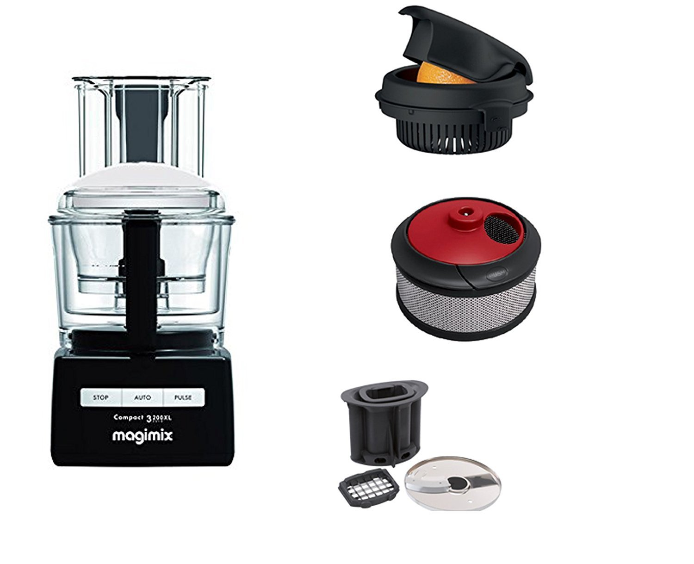 Magimix Robot oferta única 3200 XL Negro con accesorios kit ...