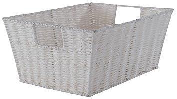 Compactor Etna - cajas y cestas de almacenaje (Storage basket, Color blanco, Papel