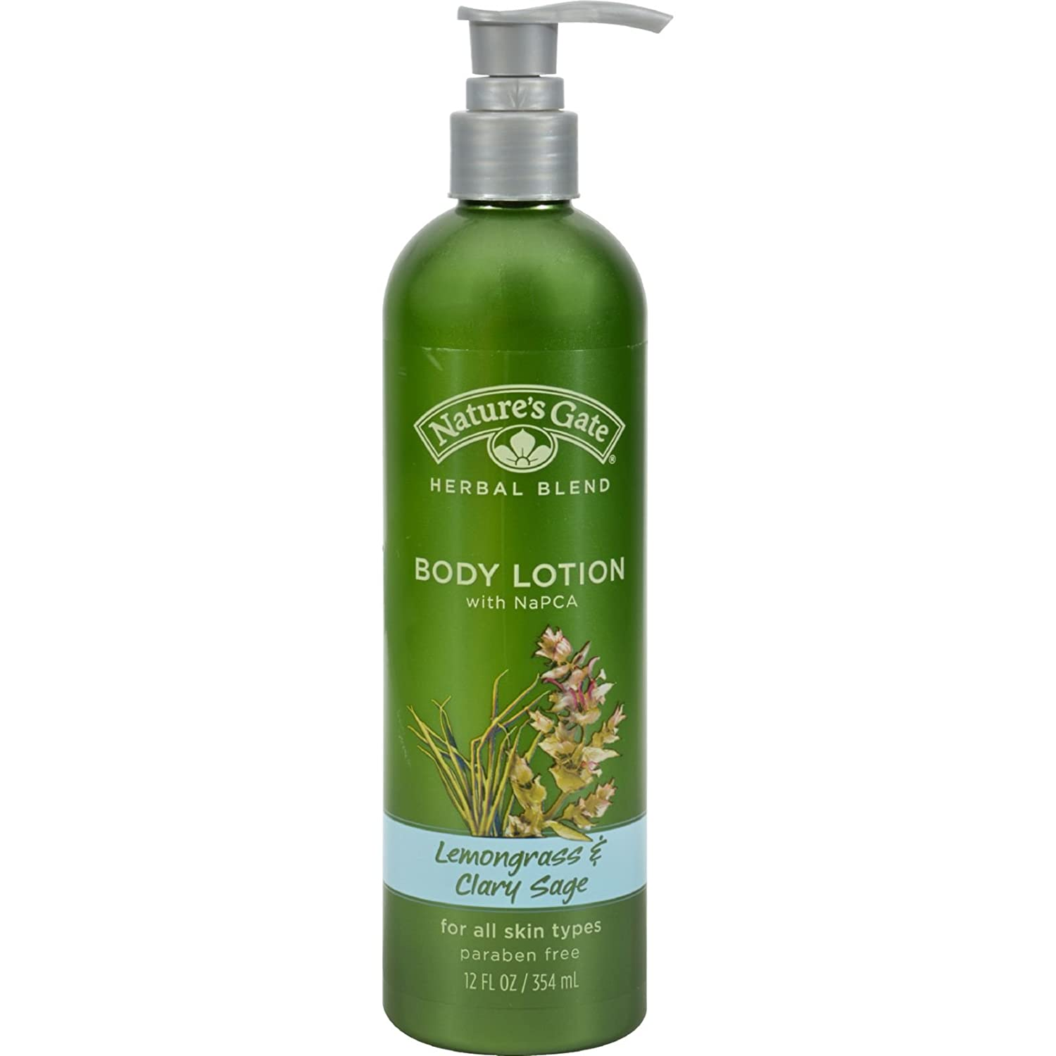 Nature's Gate Herbal Blend Lemongrass and Clary Sage Body Lotion