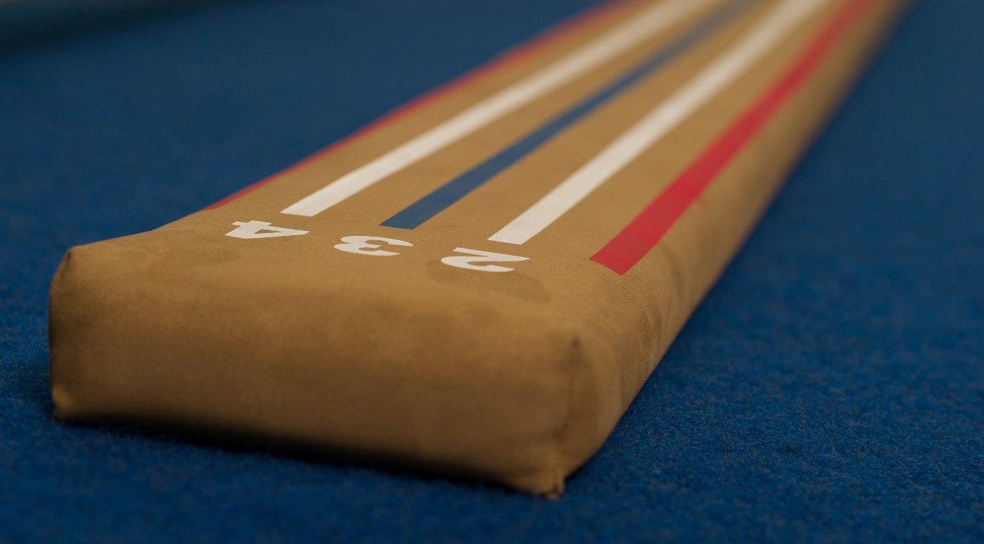Tumbl Trak Laser Schwebebalken Lite, 2,4 M Länge