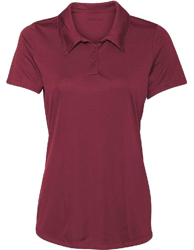Amazon.com  Women s Dri-Equip Golf Polo Shirts 3-Button Golf Polo s in 20  Colors XS-3XL  Clothing e8f93fb21f