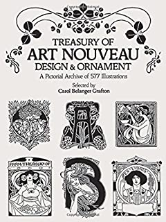 art nouveau an anthology of design and illustration from the