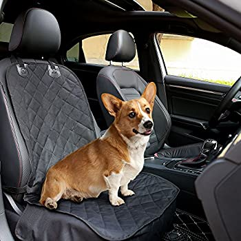 Dog Front Seat Covers Pet Car Cover With Nonslip Rubber Backing Waterproof And Scratch Proof Durable Machine Washable Bucket For Cars