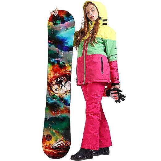 Amazon.com: SAENSHING - Chaqueta de esquí para mujer ...