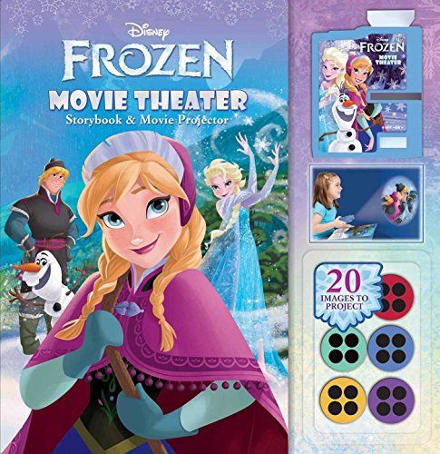 Disney Frozen: Movie Theater Storybook & Movie Projector (1)