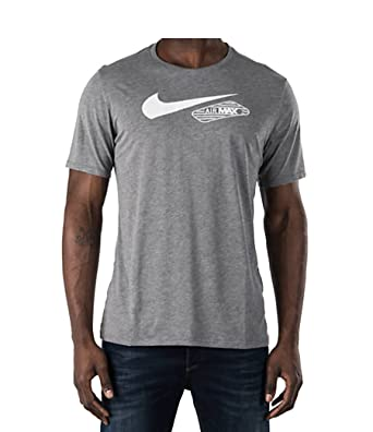 T Shirts – Mens Nike Apparel Nike Sportswear Heritage Air 2 Knit T shirt Black