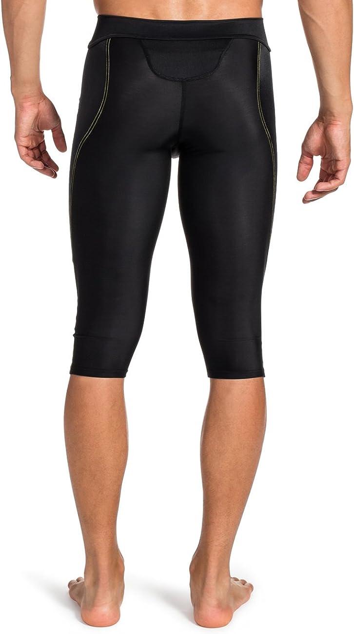 Color Negro Skins A400 Mallas para Hombre