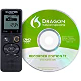Olympus VN-541 PC Digital Voice Recorder with DNS12 Speech Recognition Software