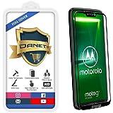 """Película De Vidro Temperado 3D Full Cover Para Motorola Moto G7 Power 2018 Tela 6.2"""" - Proteção Blindada Top Premium Que Cobre Toda A Tela - Danet"""