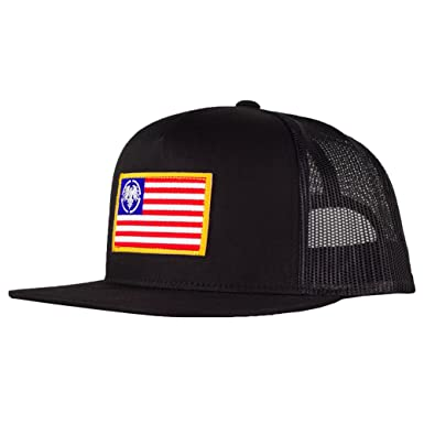 cb927d6132c62 Image Unavailable. Image not available for. Color  Never Summer USA Eagle  Patch Trucker Hat