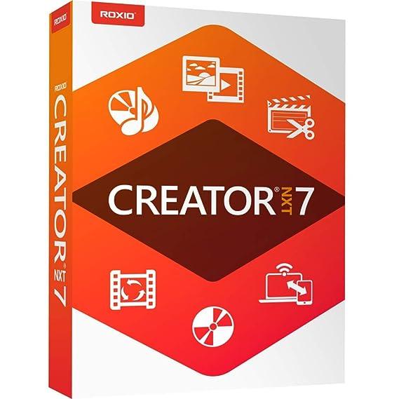 Amazon com: Roxio Creator NXT 7 - CD/DVD Burning & Creativity Suite