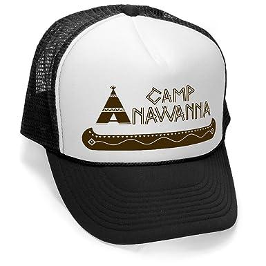 Campamento anawanna - Vintage estilo Trucker gorro Retro Mesh Cap ...