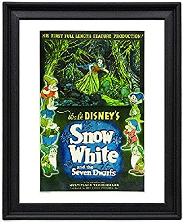 Amazon Snow White And The Seven Dwarfs 2 Picture Frame 8x10