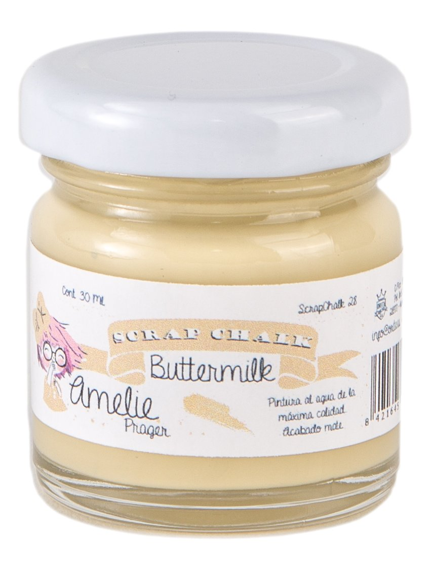 Amelie Prager amc-28 Paint to the chalk, Buttermilk, 30 ml 30ml Orita