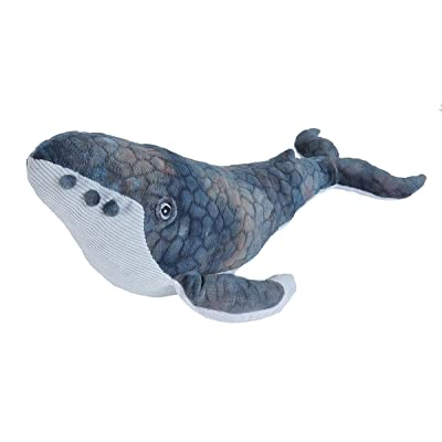 Wild Republic Humpback Whale Plush, Stuffed Animal, Plush Toy, Gifts for Kids, Cuddlekins 20 Inches: Toys & Games