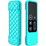 Bear Motion Case for Apple TV 4K / 5th 4th Gen Remote Controller - Silicone Shock Resistant Cover for Apple TV 4K Siri Remote Controller (Case for Apple TV 4K / 5th 4th Gen Remote, Green)