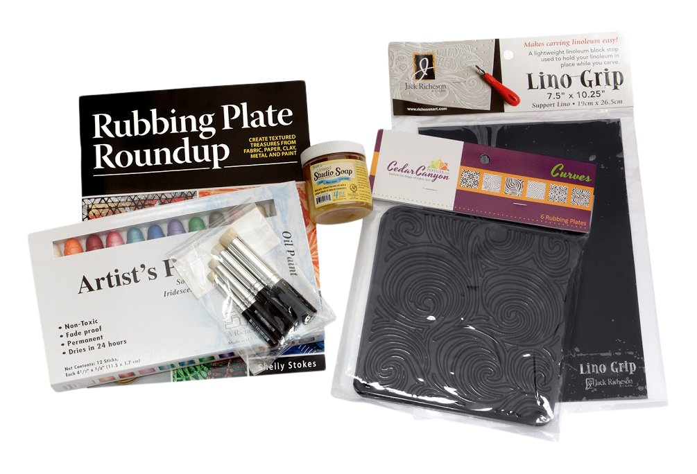 Jack Richeson Rubbing Plate Round Up Gift Set by Jack Richeson