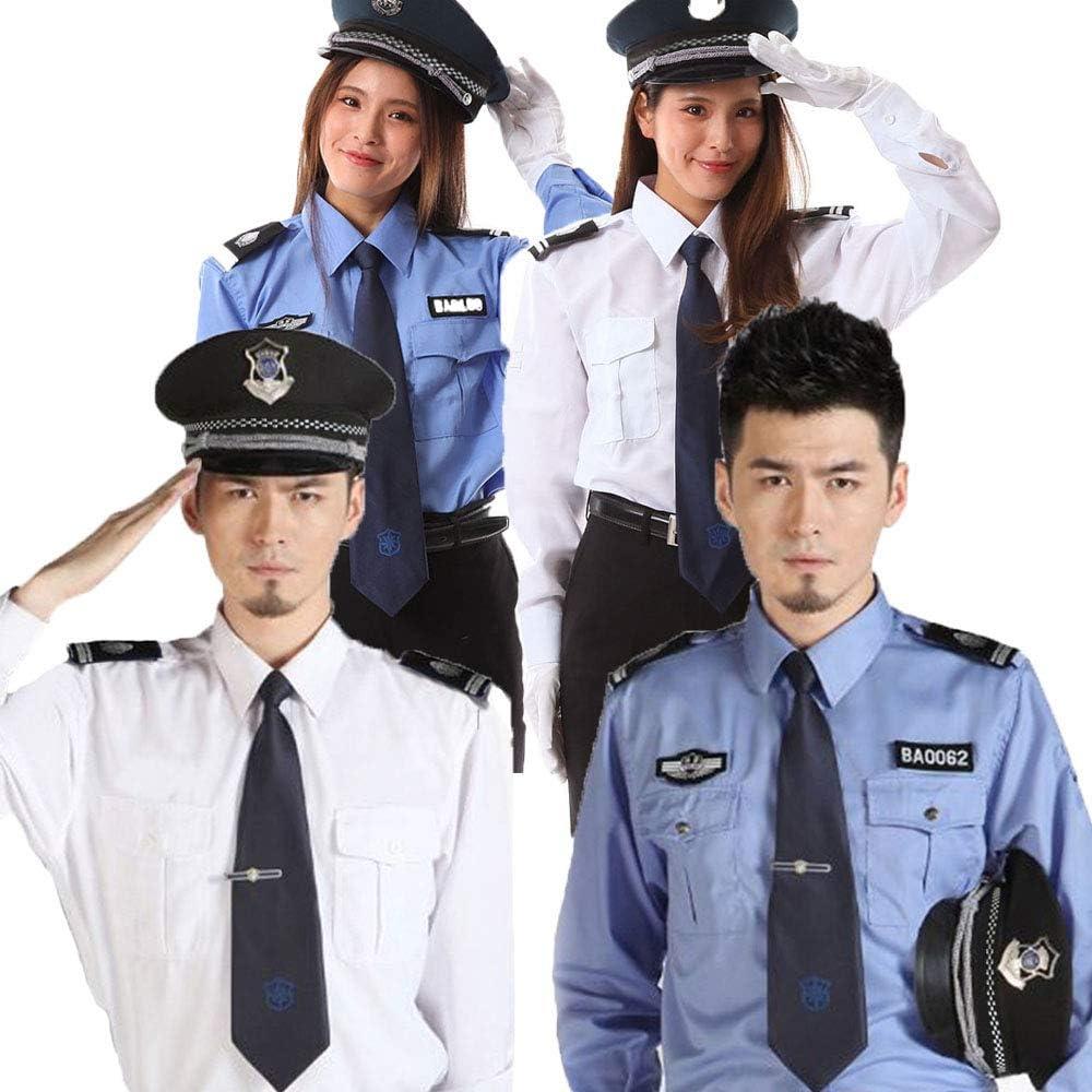【 本格的 】monoii ポリス コスプレ 警察官 ハロウィン コスチューム パイロット コスプレ メンズ b952の画像