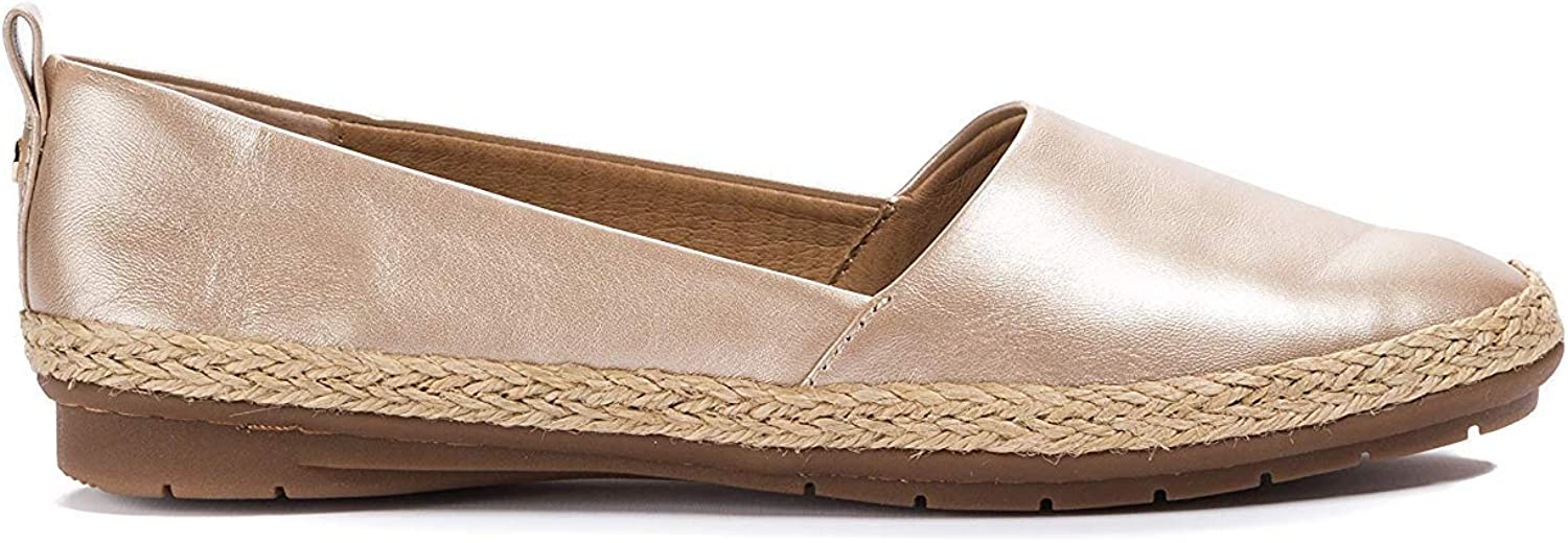 Lucca Lane Womens Naomi Leather Closed Toe Casual Slide Sandals
