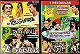 7 SEXICOMEDIAS DE PULQUE Y RELAJO [2 PAQUETES EN 1] 1 DVD- LA PULQUERIA 3,LA PULQUERIA 4,LOS MAISTROS,EL ADULTERIO ME DA RISA,DOS RATEROS DE ALTURA/ 2DVD-LA PULQUERIA 1,LA PULQUERIA 2. [ALFONSO ZAYAS,JORGE RIVERO,SASHA MONTENEGRO]