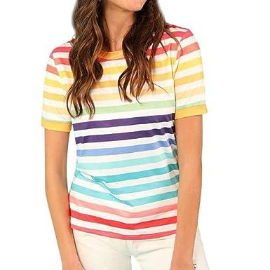 Camisas Blusa Elegante Vintage Blusa Flecos Verano Manga Corta ...