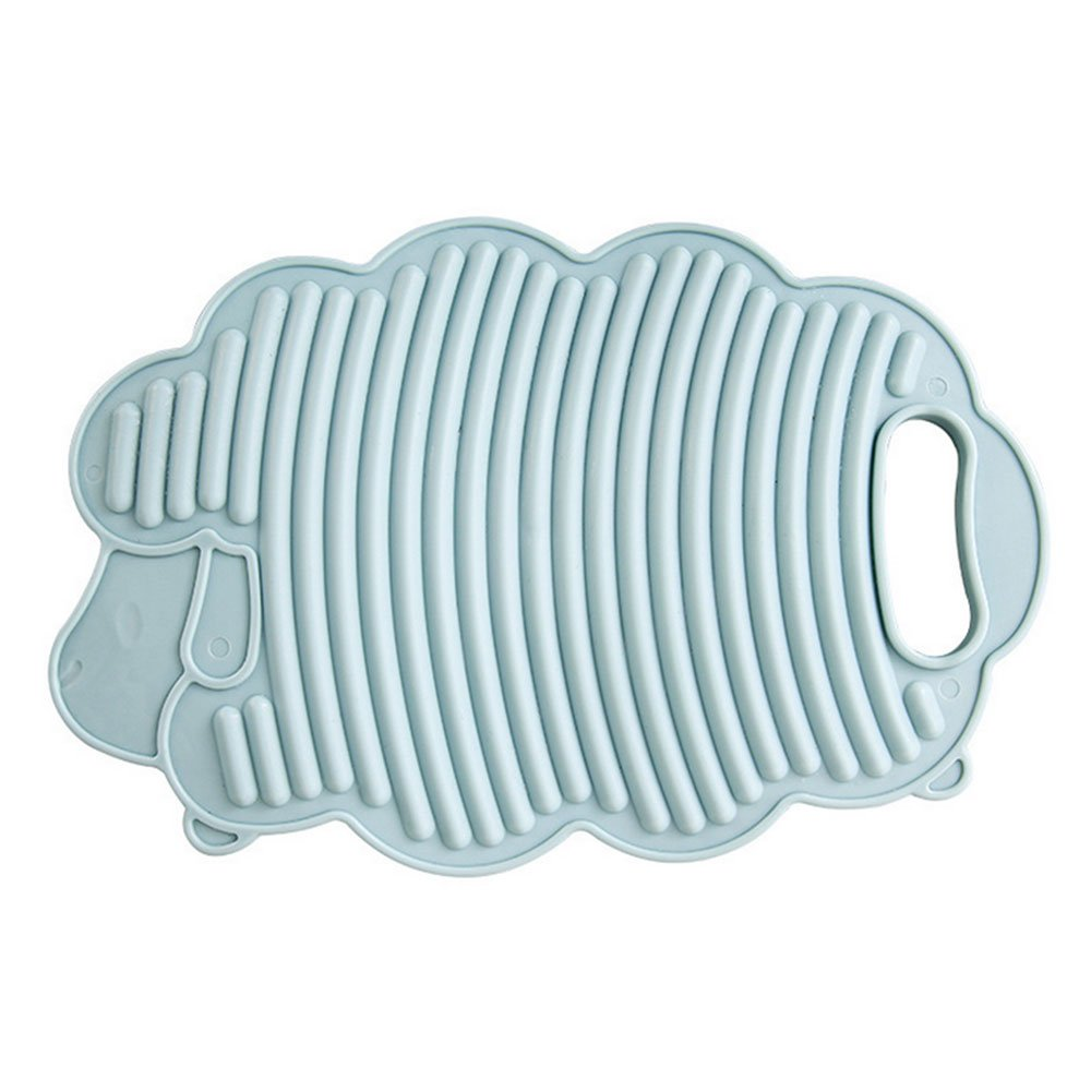 daycount Mini Lamb洗濯マシンホームプレートクリエイティブ子供のプラスチック洗面台洗濯板 30*20cm/ 11.8''x7.9'' ブルー DC1140 B079FN261C ブルー