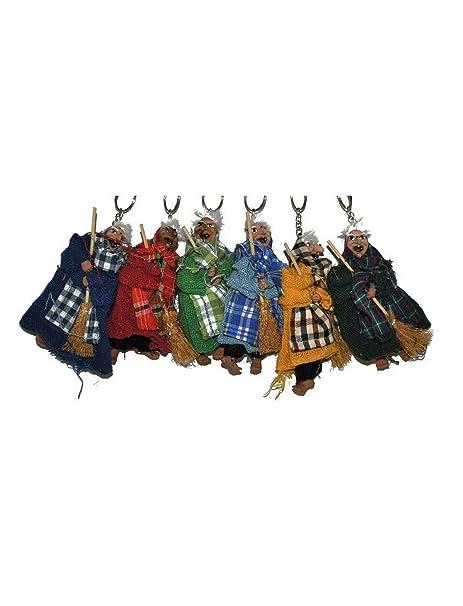 Fiesta del Palacio - Decoración de Halloween, 6 Deko Bruja ...
