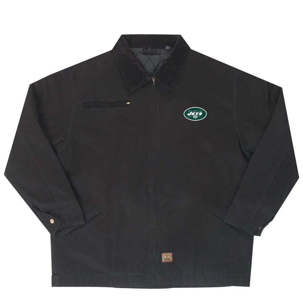 (X-Large, Team) - NFL New York Jets Tradesman Canvas Quilt Lined Jacket   B00K82TVU0