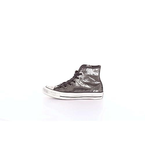 Converse Chuck Taylor CTAS Distressed Hi, Zapatillas para Mujer: Amazon.es: Zapatos y complementos