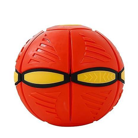 owikar Kids discos voladores Toy Deformación UFO balón de fútbol ...